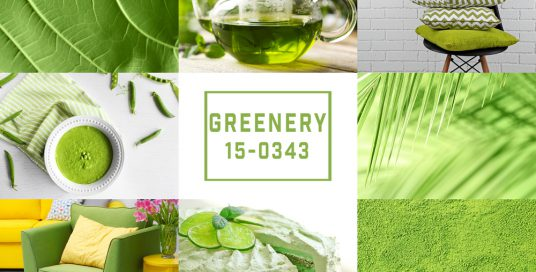Color of the year 2017 – Greenery